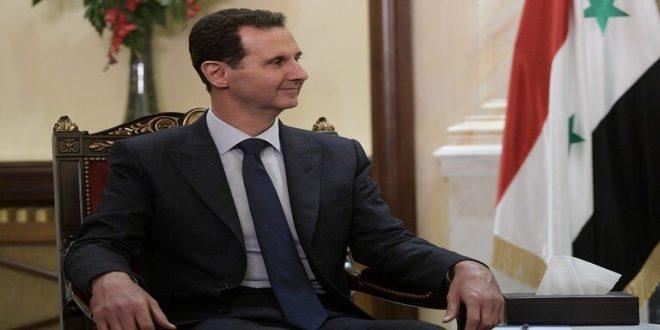 حساب مزور لمستشارة الأسد ينشر إقالة وزير الصحة السوري