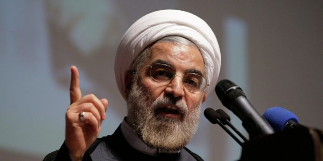 روحاني: الإمارات ارتكبت خطأً جسيماً بالتوصل لإتفاق مع إسرائيل
