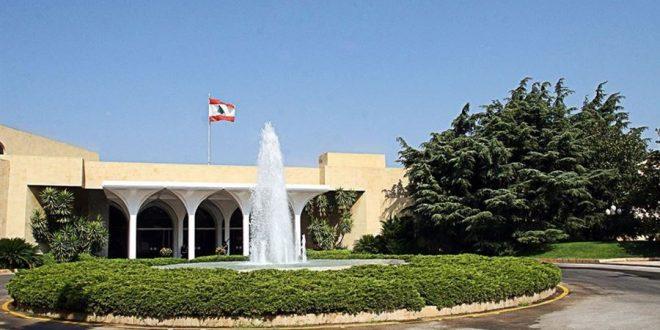 جلسة لمجلس الوزراء في بعبدا يوم الإثنين