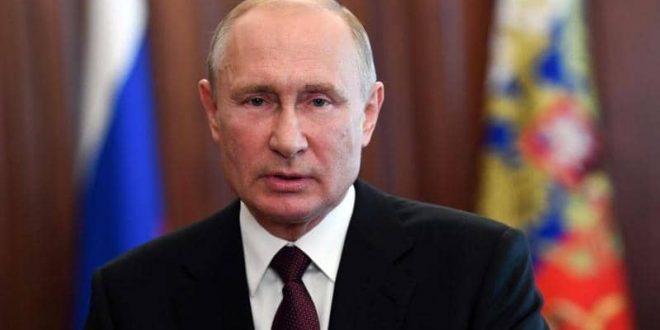 بوتين: جائحة فيروس كورونا تحد عالمي من نوع جديد وإحياء الاقتصاد سيتطلب وقتا طويلا
