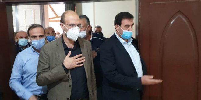 وزير الصحة من فنيدق: بالتعاون المجتمعي نستطيع أن نعبر إلى بر الأمان