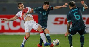 """الأرجنتين ترقص """"التانغو"""" أمام البيرو"""