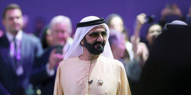 محمد بن راشد يهنئ السيسي بأفضل وزيرة في العالم العربي