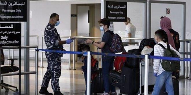 """نتائج """"كورونا"""" لرحلات إضافية وصلت إلى بيروت"""