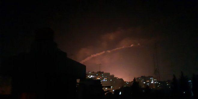 الدفاعات الجوية تصدت فجراً لعدوان إسرائيلي على محيط حماة