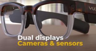 Vuzix الأميركية تنافس غوغل بنظارات ذكية متطورة