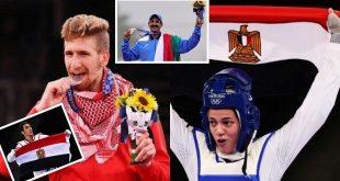 """حصيلة اليوم الثالث لميداليات أولمبياد """"طوكيو 2020"""".. بينها 4 عربية"""