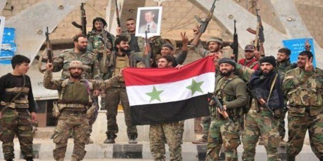 الجيش السوري يمنع رتلاً عسكرياً أمريكياً من دخول قرية بريف الحسكة