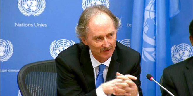 بيدرسن: محادثات اللجنة الدستورية السورية انتهت من دون إحراز أي تقدم