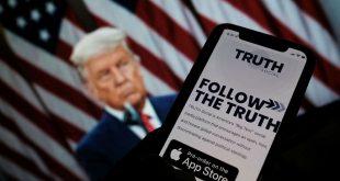 """ترامب يعلن عن إطلاق """"تروث سوشل"""" المنصة الجديدة للتواصل الإجتماعي"""